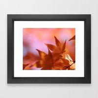 Fall Symphony Framed Art Print