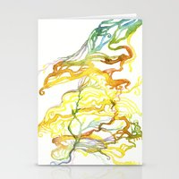 Iceland Abstracted #6 Stationery Cards