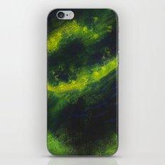 Green Galaxy iPhone & iPod Skin