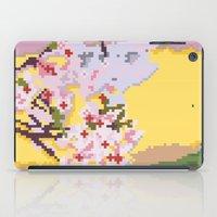 Sakura pixel iPad Case