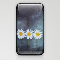 Three Marguerites iPhone & iPod Skin