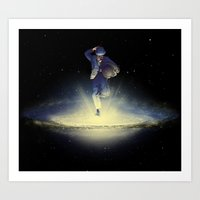A Leap Into The Unknown Art Print
