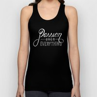 Passion Over Everything Unisex Tank Top