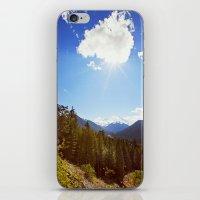 On Back Mountain Roads iPhone & iPod Skin