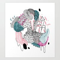 Gooey Art Print