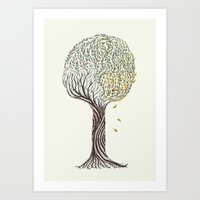 season tree Art Print