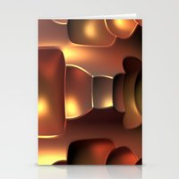 Copper Toned Stationery Cards