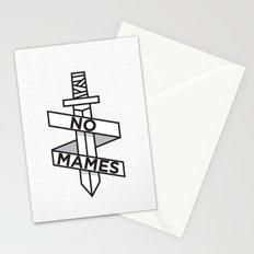 NO MAMES Stationery Cards