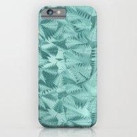 Fractal Fern Pattern iPhone 6 Slim Case