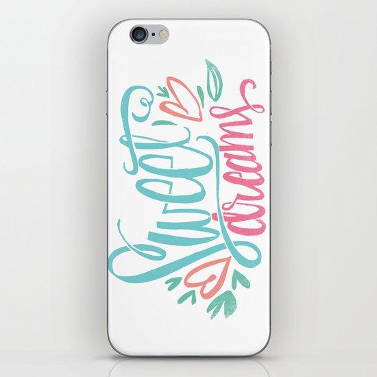 sweet dreams iPhone & iPod Skin