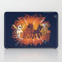 Four Little Ponies of the Apocalypse iPad Case