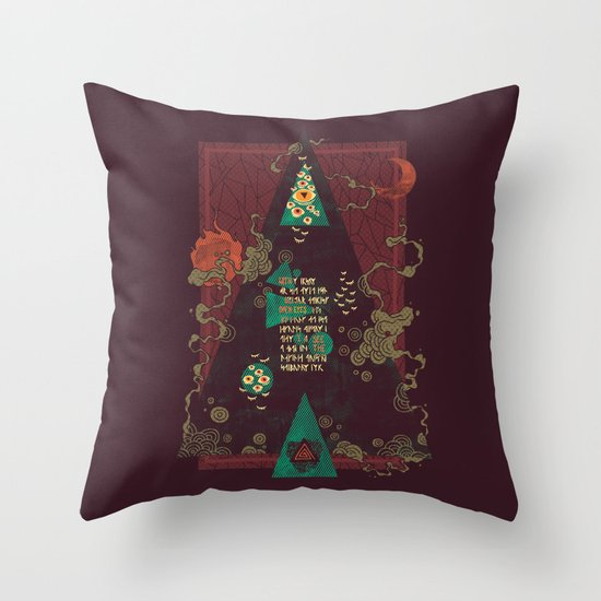 Coded Throw Pillow