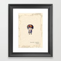 Chibi Simon Framed Art Print
