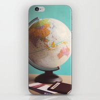 Travel planning iPhone & iPod Skin