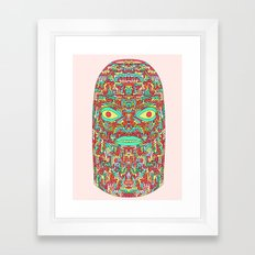 Self-Transforming Being Framed Art Print