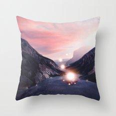 Energy. Throw Pillow