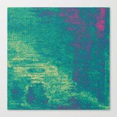 21-74-16 (Aquatic Glitch) Canvas Print