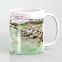Purple up over the hills Mug