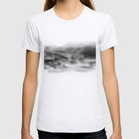 Before the storm Womens Fitted Tee Ash Grey SMALL