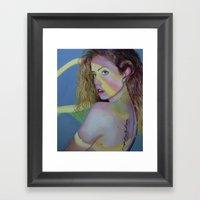 Hershey Kissed Framed Art Print