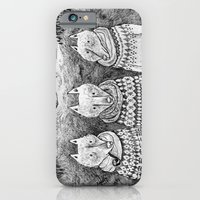 iPhone & iPod Case featuring Icelandic foxes by Ulrika Kestere