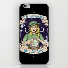 Mystic Miss Maggie Esmerelda (color) iPhone & iPod Skin