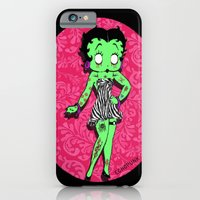 iPhone & iPod Case featuring Tattooed Betty Boop by echopunk