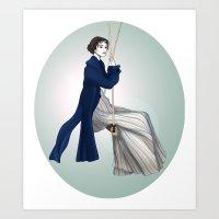Fashion Illustration - Pride & Prejudice Art Print