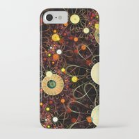 floral pattern iPhone & iPod Cases featuring Floral pattern by Klara Acel