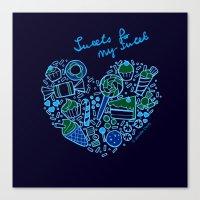 Heartfilled Canvas Print