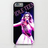 iPhone & iPod Case featuring IDLE TEEN - MARINA AND THE DIAMOND'S DREAM by RickyRicardo787