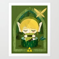 Legend Art Print