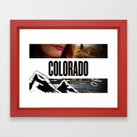 Colorado Bound Framed Art Print