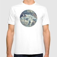 Nature Taking Over Mens Fitted Tee White SMALL