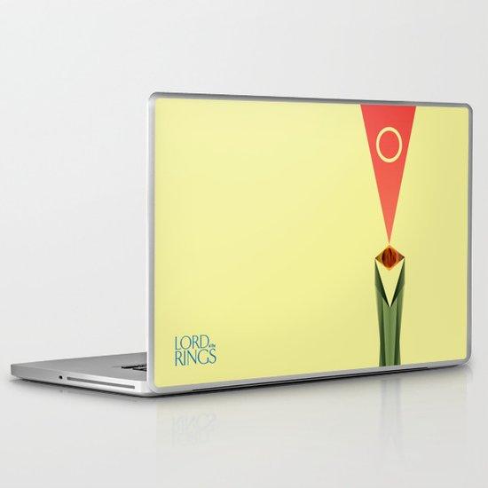 Lord of the Rings Minimal Film Poster Laptop & iPad Skin