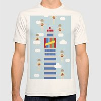 De Madrid Al Cielo Mens Fitted Tee Natural SMALL