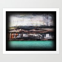 Beauty of the rocks Art Print