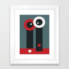 LOVESCAPE Framed Art Print