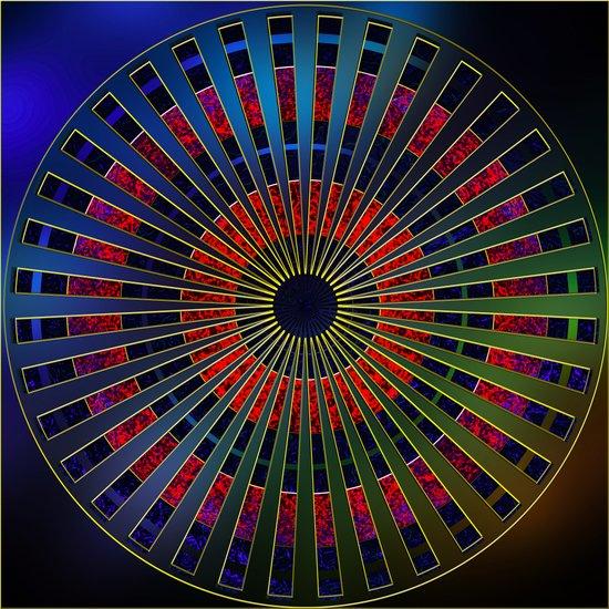 Mandala 10 Art Print