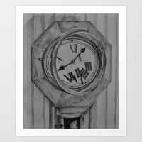 Untimely Art Print
