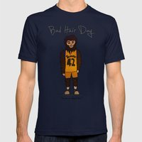 bad hair day no:2 / Teen Wolf Mens Fitted Tee Navy SMALL