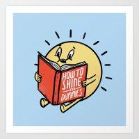 How To Shine For Dummies Art Print