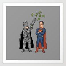 Super Rich 2 Art Print