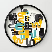 The photographer. Wall Clock