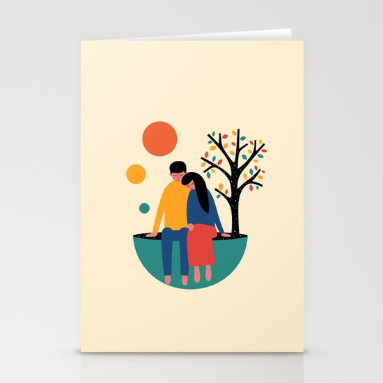 Always and forever Stationery Card