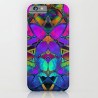 Floral Fractal Art G308 iPhone 6 Slim Case