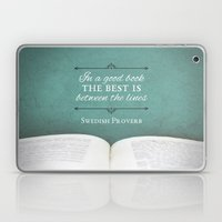 Good Books Laptop & iPad Skin