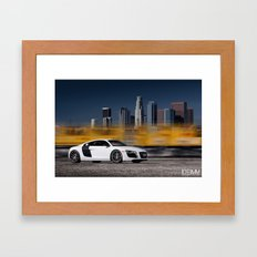 Audi R8 Framed Art Print