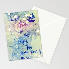 Washed Up Seashell. Stationery Cards
