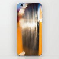Yellow + Sunset iPhone & iPod Skin